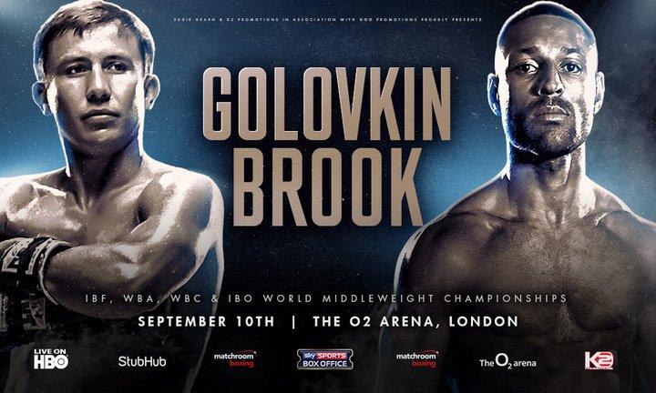 Golovkin vs. Brook